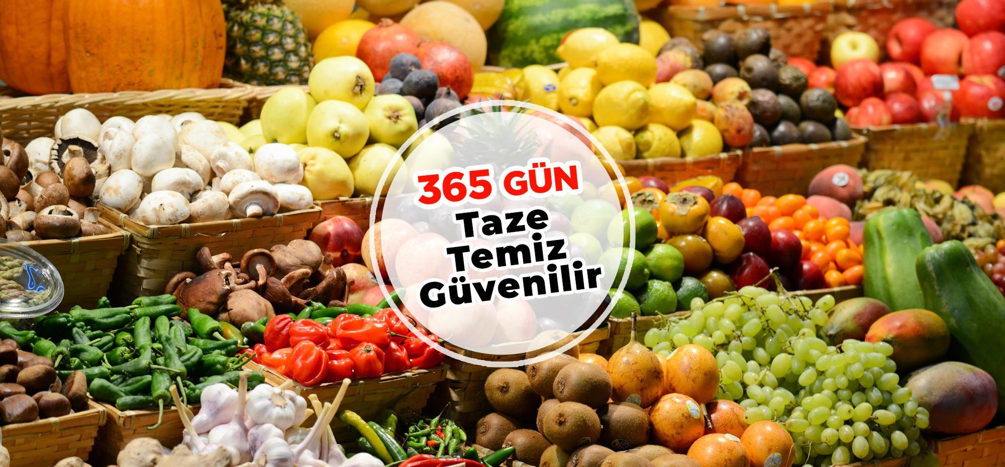 Meyve Sebze Reyonu
