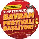 09 Temmuz - 19 Temmuz 2021 Bayram Festivali Tamamlandı!